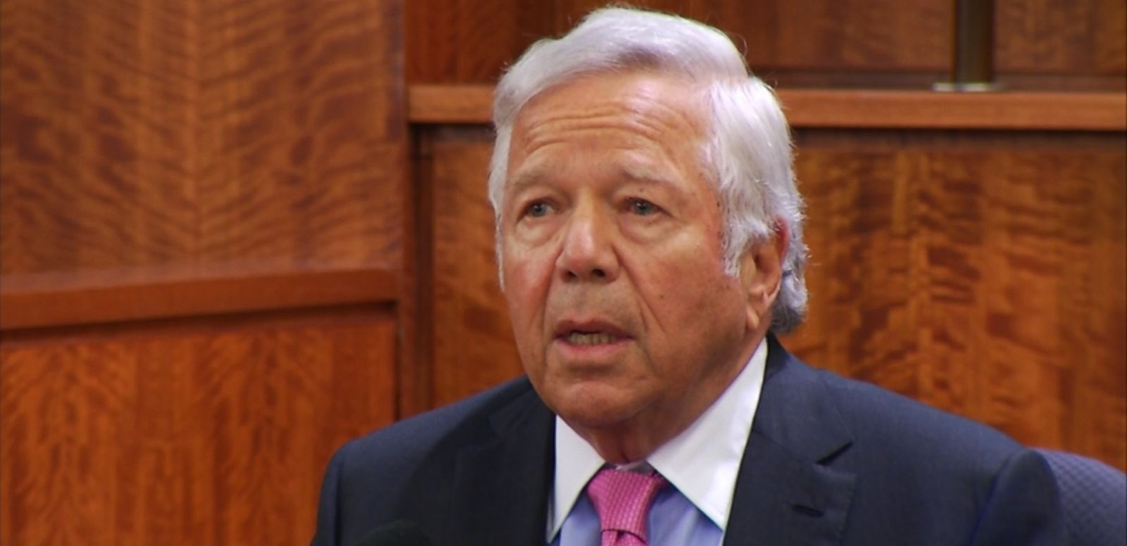 VIDEO: Kraft took the witness stand and testified that his former player Aaron Hernandez told him he was innocent of the murder of Odin Lloyd.