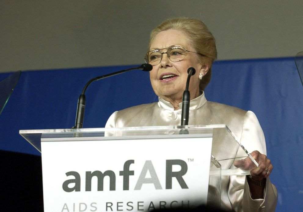 Mathilde Krim, Inspirational Founding Chairman of AmfAR, Dies at 91