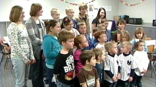 VIDEO: Hanson School educates seven sets of twins and three sets of triplets.