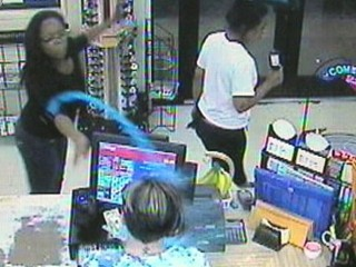 Watch: Gas Station Clerk Stunned by Slushy Attack