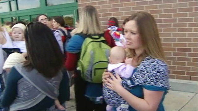 VIDEO: Texas woman claims she was harassed at a Target store for breastfeeding.