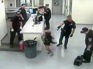 Watch: Handcuffed Woman Tasered, Cop Suspended