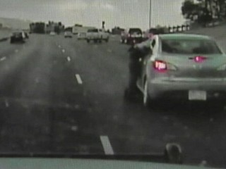 Watch: Deputy Stops Car With Unconscious Driver, Child Inside