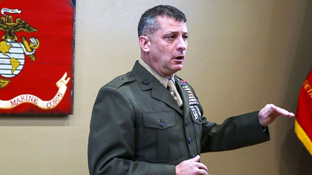 Marine general removed after calling reports of alleged sexual harassment 'fake news'