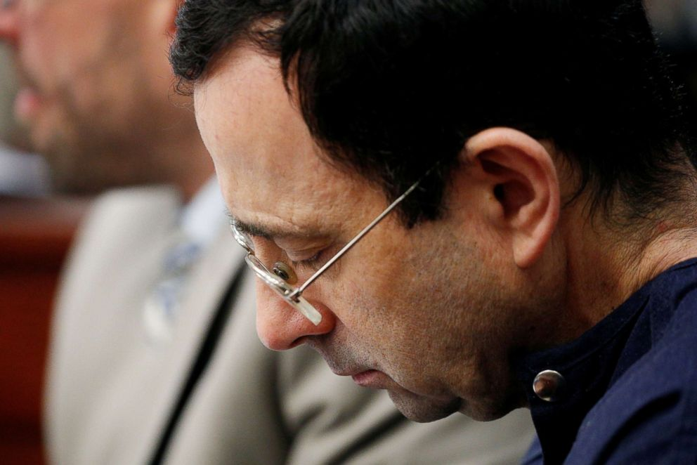 3 of USA Gymnastics' top leaders resign as Nassar sentencing hearing continues