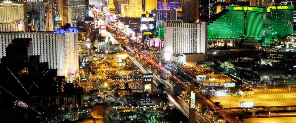 PHOTO: A view of the Las Vegas Strip is captured from Mandalay Bay Resort & Casino, March 26, 2011, in Las Vegas.