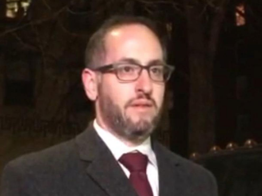 PHOTO: Legal Director of CAIR New York speaks to the press after Akayed Ullah allegedly detonating an explosive in the New York City subway system, Dec. 11, 2017.