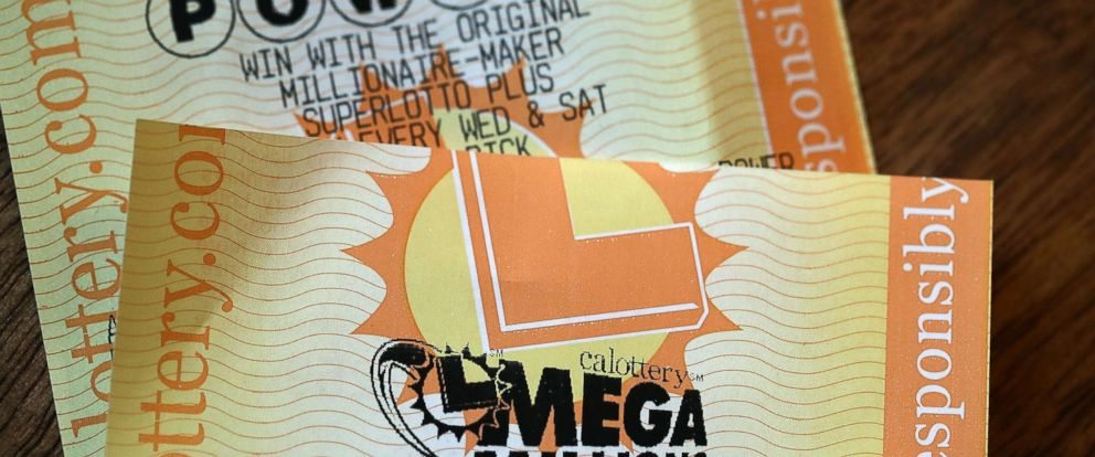 PHOTO: Powerball and Mega Millions lottery tickets, Jan 3, 2018 in San Anselmo, Calif. The Powerball jackpot and Mega Millions jackpots are both over $400 million.