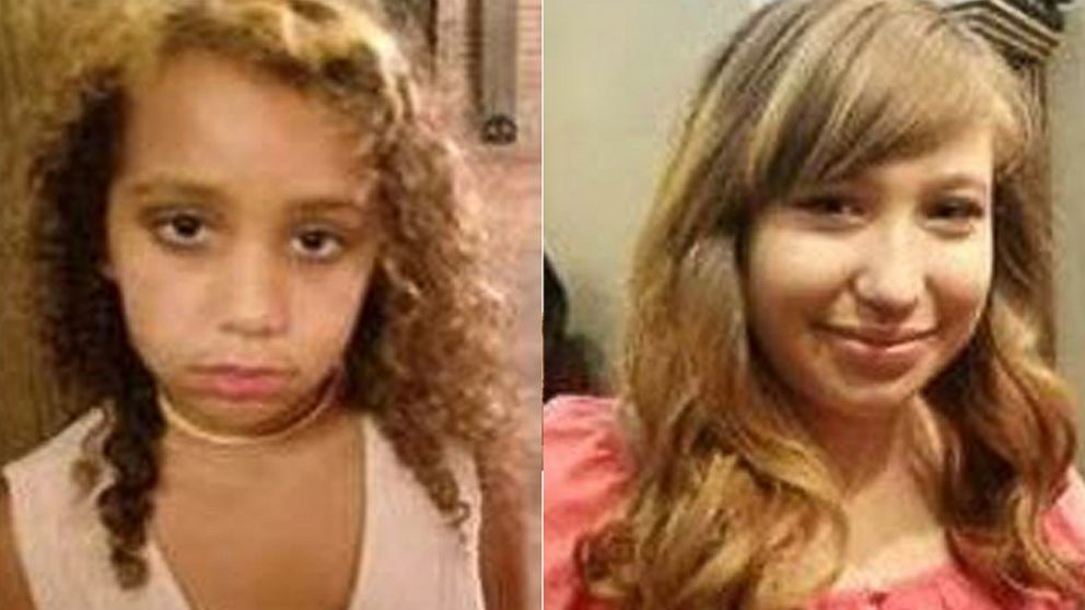 Abducted Texas sisters found in Colorado, person of interest in custody