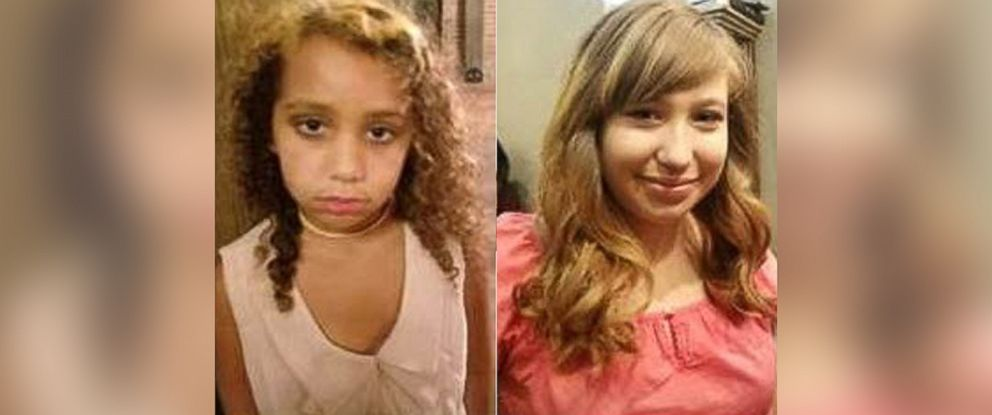 PHOTO: (L-R) Luluvioletta Bandera-magret, 7, and Lilianais Griffith, 14, of Round Rock, Texas, have been missing since Dec. 30, 2017.