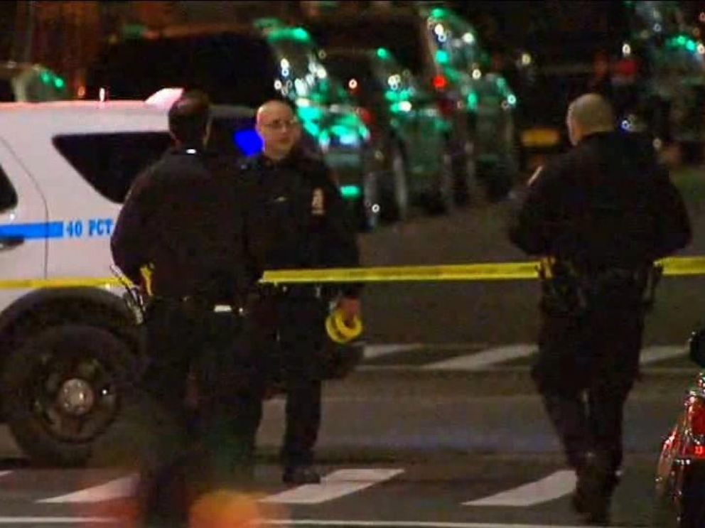 PHOTO: Authorities say a man armed with a machete was killed in a police-involved shooting in the Bronx in New York, Dec. 5, 2017.