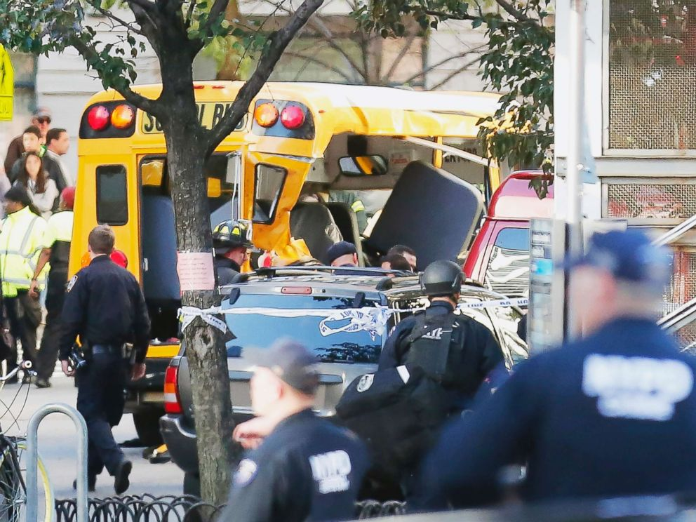 An Uzbekistani car driver killed 8 people and injured 11 in a heinous attack in New York