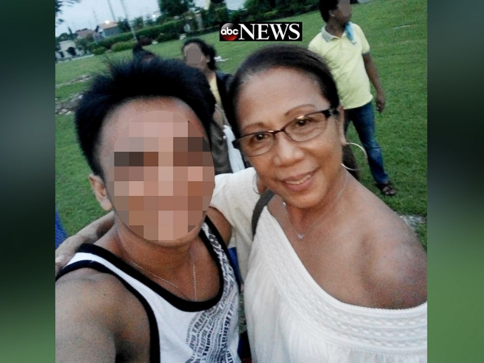 PHOTO: ABC News has obtained photos of Marilou Danley with family members in the Philippines on Sept. 29, 2017, at a family gathering at a cemetery to commemorate the birthday of a niece of Danleys who had died.