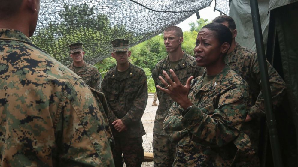 Marine  Corps  selects 1st black woman to be a general officer