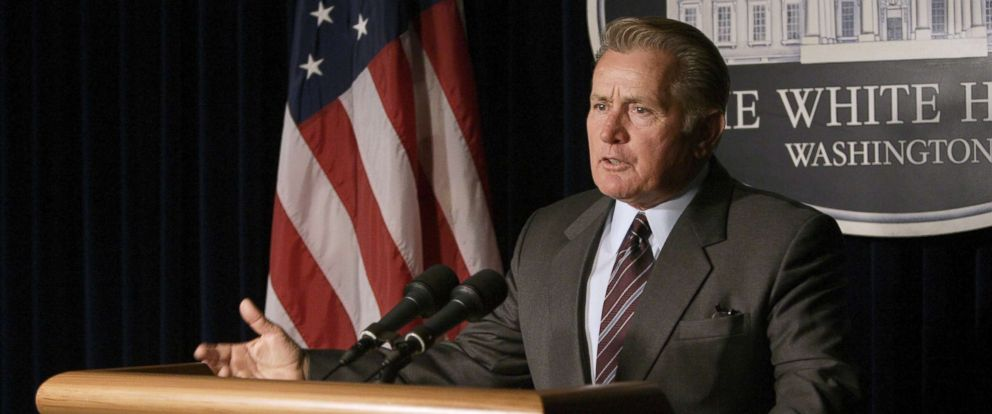 "PHOTO: Martin Sheen in a scene from ""The West Wing."""