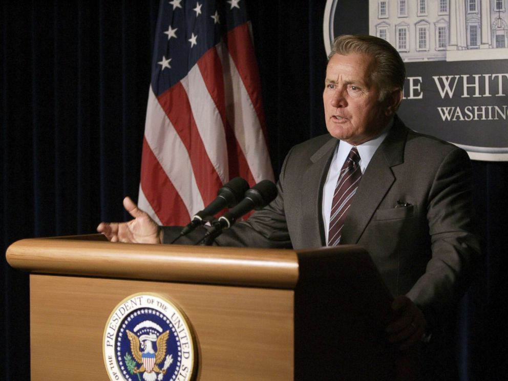 PHOTO: Martin Sheen in a scene from The West Wing.