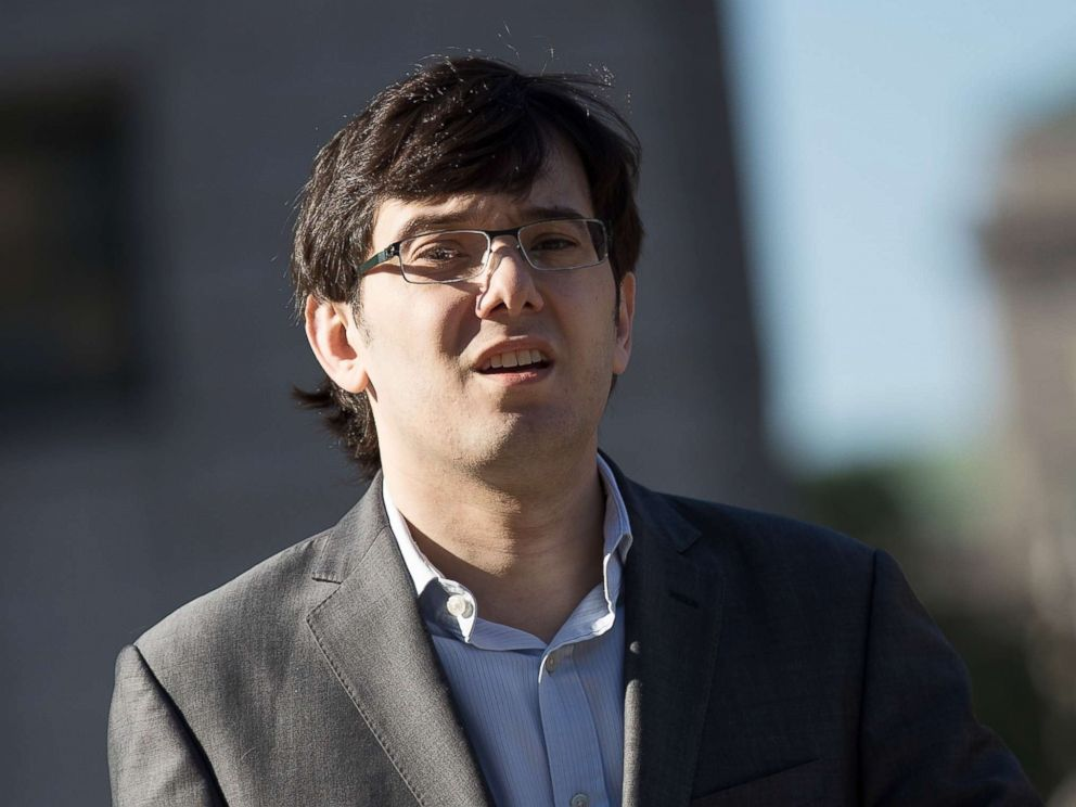 Martin Shkreli arrives at the U.S. District Court for the Eastern District of New York