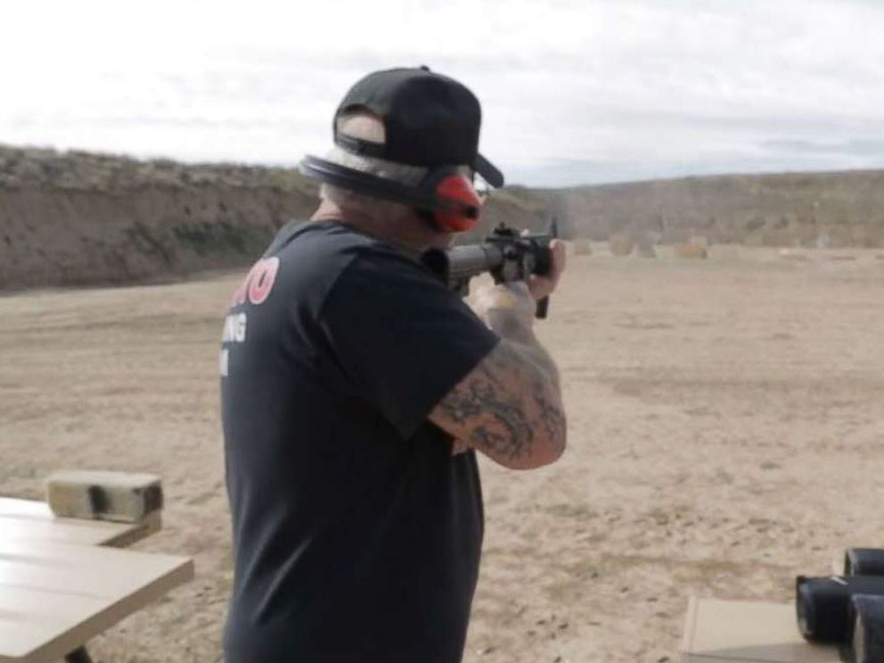PHOTO: Colorado gun shop owner Mel Bernstein became casually known as the most armed man in America after acquiring thousands of high-powered weapons, bazookas and machine guns.