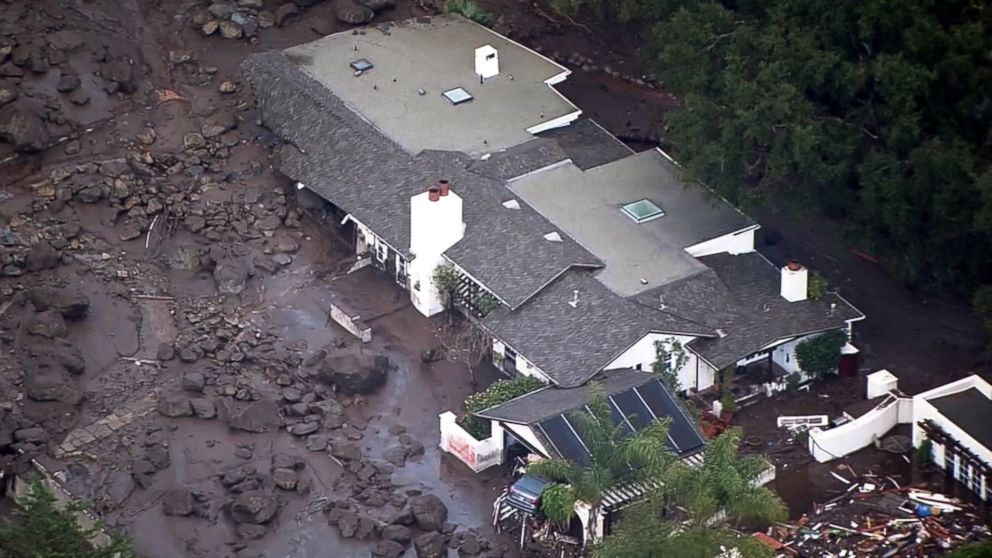17 dead, 17 missing after flooding, mudslides force thousands to flee in California