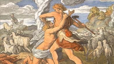 PHOTO: Cain slays Abel