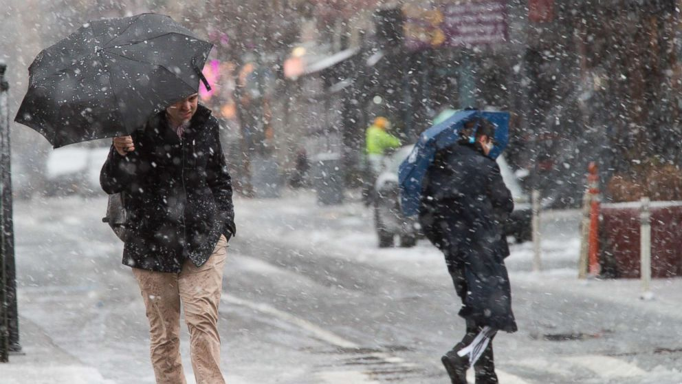 Northeast braces for another snowstorm  on 1st day of spring