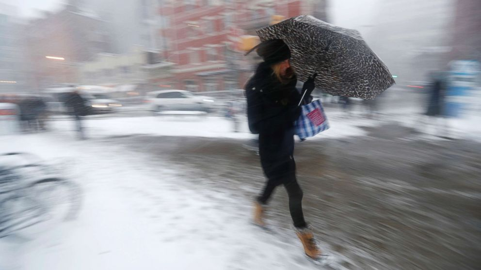 Bitter cold and snow threatening parts of eastern US