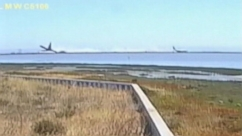 Video released by the NTSB shows the failed landing of Asiana flight 214 at San Francisco International Airport.