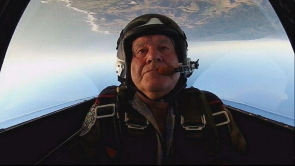 Elderly Stunt Pilot Dies In Air Show Crash Video Abc News