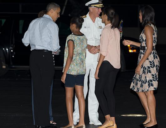 President Obama and his family take a vacation to Hawaii