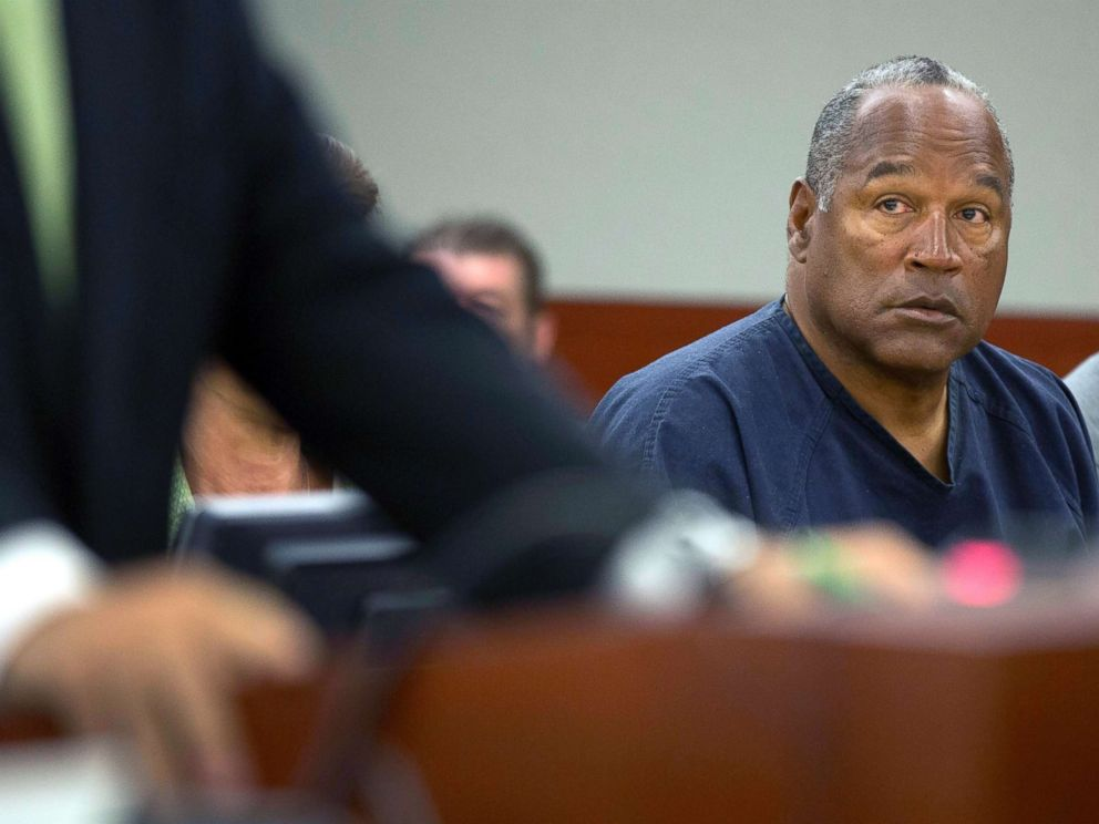 OJ Simpson Parole Hearing Set For Tomorrow