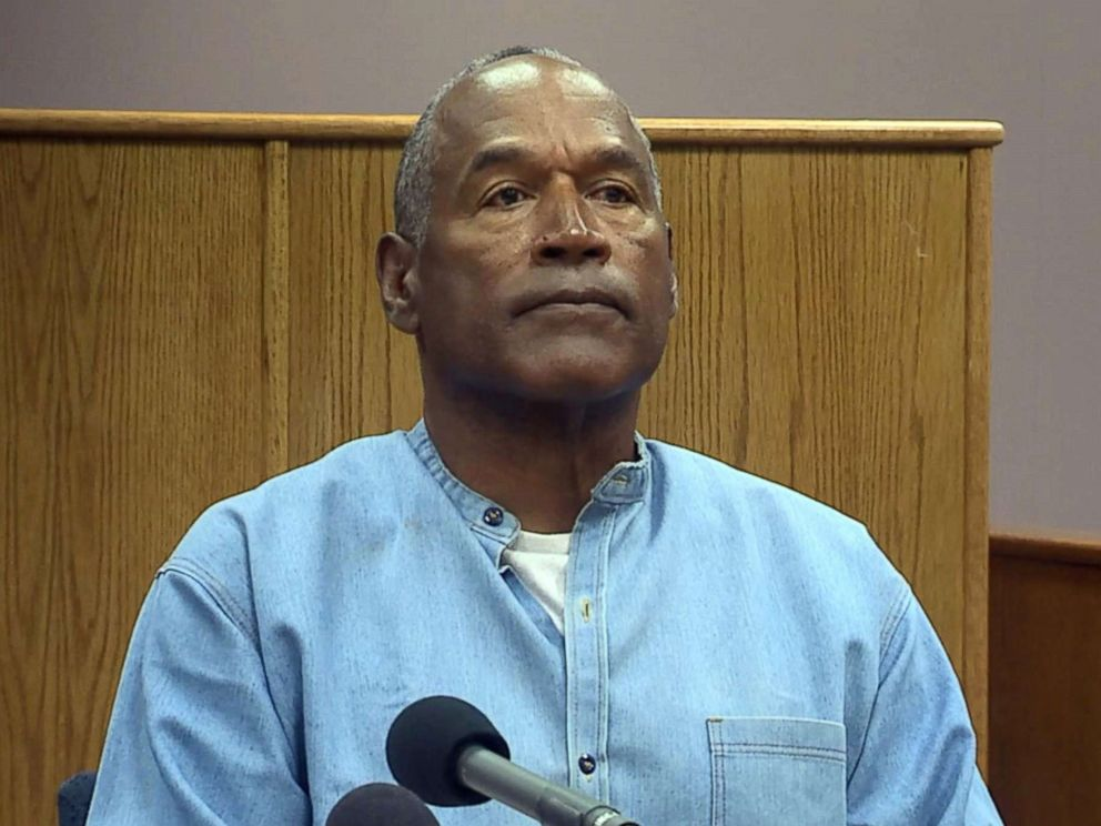 OJ Simpson freed from jail on parole