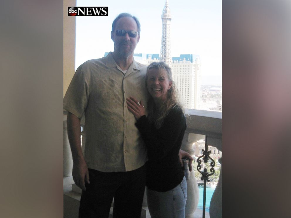 PHOTO: Stephen Paddock and Lisa Crawford are seen here in this undated file photo