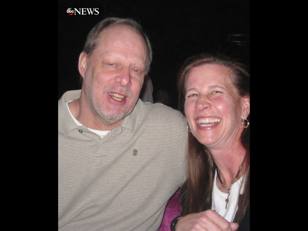 PHOTO: Stephen Paddock and Lisa Crawford are seen here in this undated file photo.