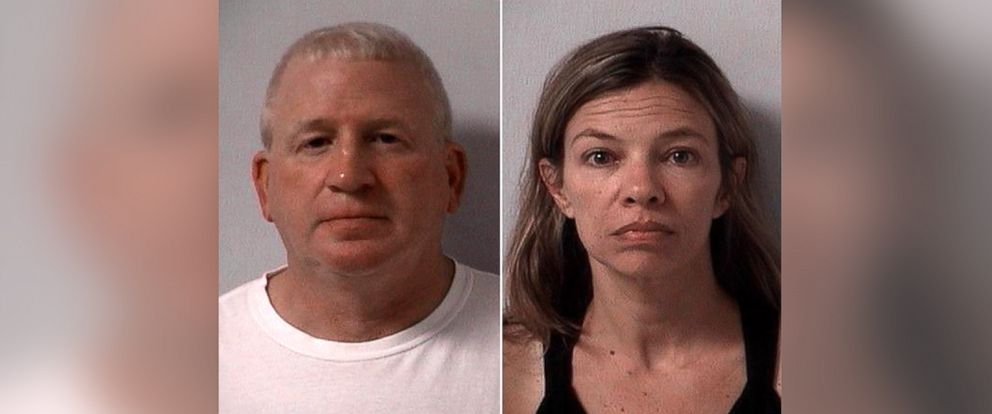 PHOTO: (L-R) These undated photos provided by Logan Sheriffs Department show Patrick ODonell, superintenent of Indian Lake Local Schools and his wife Heather ODonell, superintendent of Midwest Regional Education Services Center.