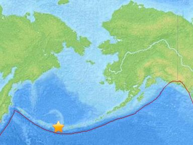 Tsunami Warning Downgraded After Earthquake Off Alaska