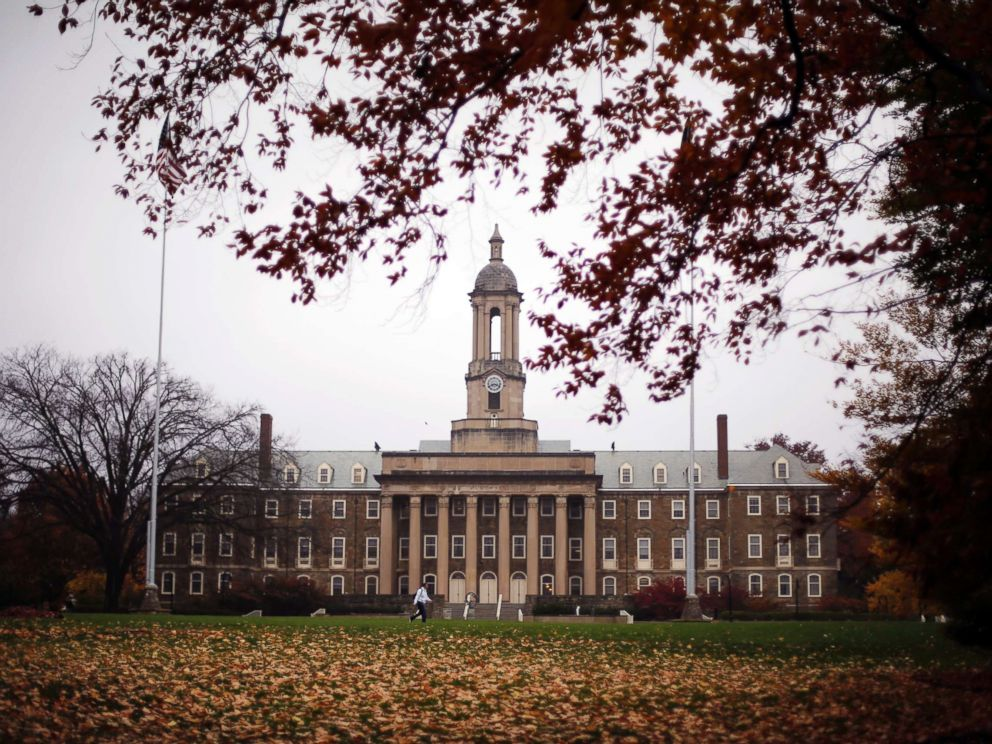 PHOTO: Old Main on the Penn State main campus in State College, Pa., is pictured Oct. 28, 2015.