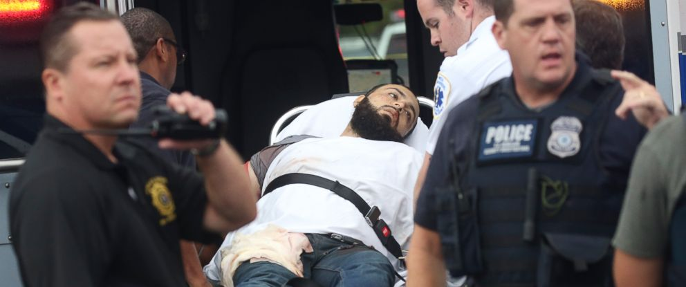 PHOTO: Ahmad Khan Rahami, earlier named a person of interest in the weekend explosions in New York City and New Jersey, was taken into custody and hospitalized this morning after a shootout with police in Linden, New Jersey, Sept. 19, 2016.