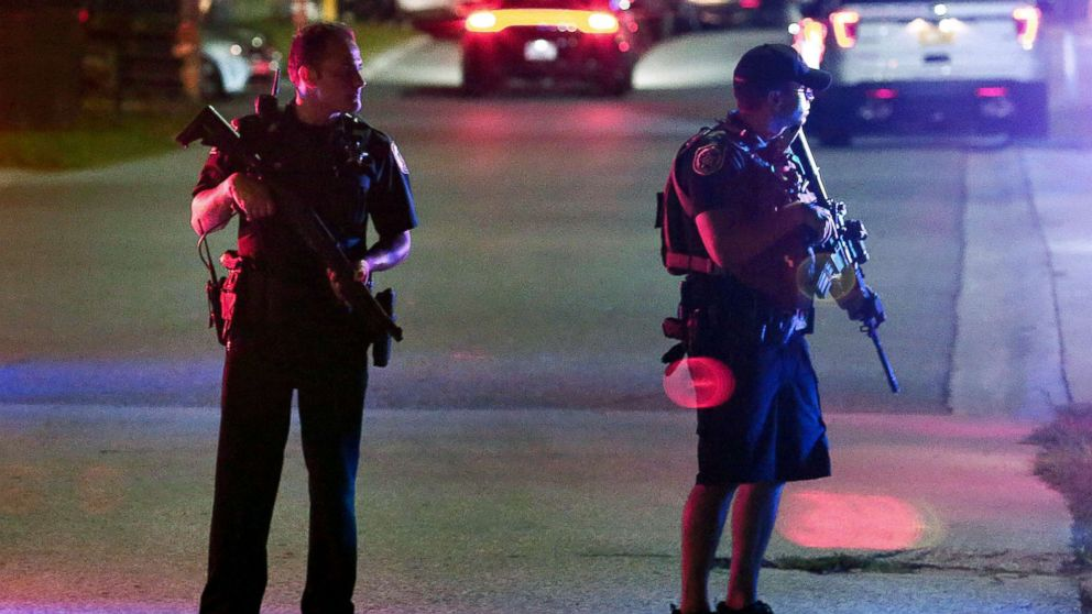 2 dead after 6 police officers shot in 3 US cities Friday night