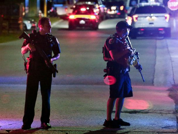 2 dead after 6 police officers shot in 3 US cities Friday night; 2 dead