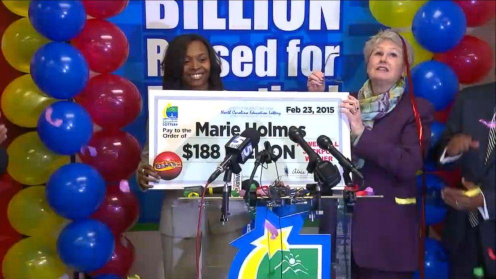 north carolina woman claims third powerball jackpot