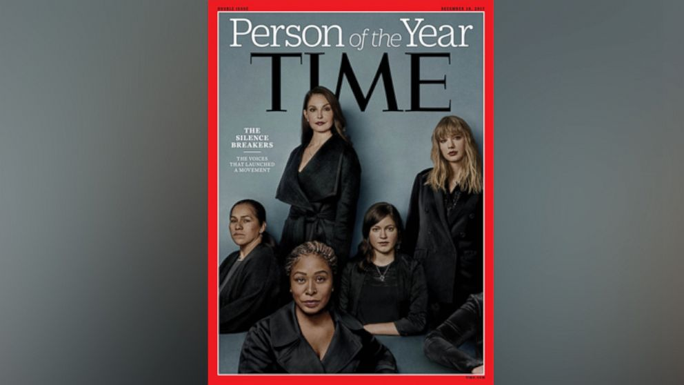 The 'silence breakers' of #MeToo movement named Time magazine's 2017 'Person of the Year'
