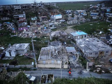 Dozens still missing in Puerto Rico a month after Hurricane Maria