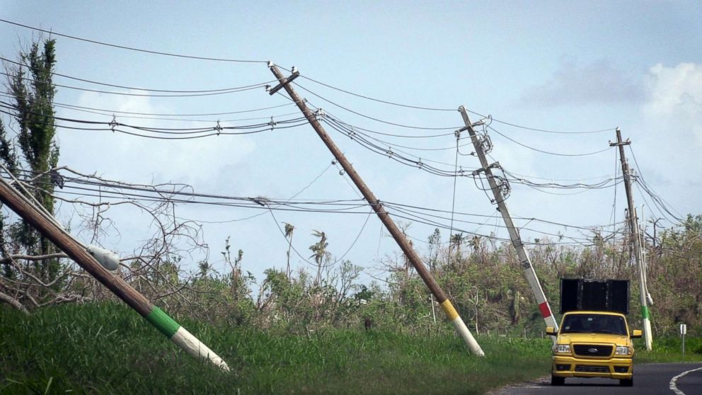 Puerto  Rico  warned power grid 'literally falling apart' before Maria hit