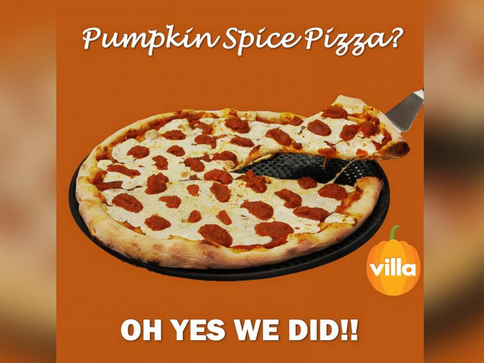 Pumpkin Spice Pizza is now a thing