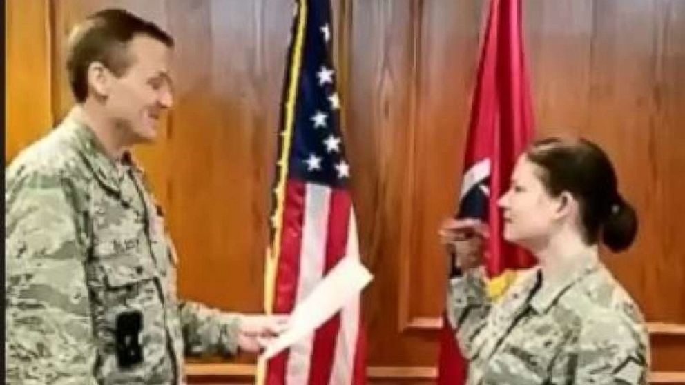 3 Tennessee National Guardsmen punished over video of oath recited with hand puppet