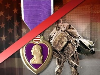 IMAGE: Purple Heart Won't Be Awarded for PTSD