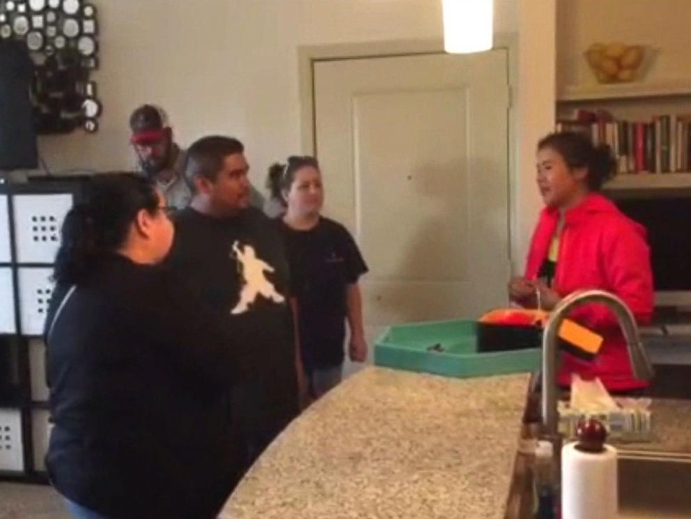 PHOTO: Realtor Stephanie Fry offered up her own apartment to families who needed a place to stay.