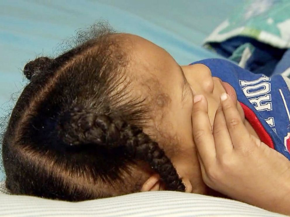 PHOTO: The 4-year-old son of Iashia Nelson, the Houston woman whose plea for help during Hurricane Harvey went viral, is pictured here two months after Harvey.