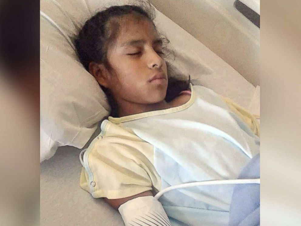 PHOTO: After undergoing gallbladder surgery on Oct. 24, 2017, federal agents sent Rosa Maria Hernandez to a childrens shelter in San Antonio, Texas, that her family said is not equipped to care for her, according to the attorney representing her mother.