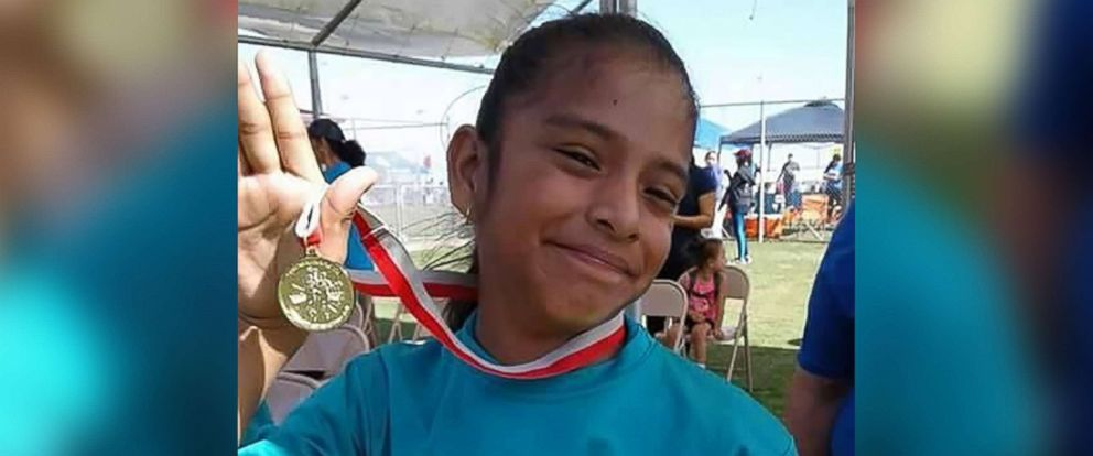 PHOTO: Rosa Maria Hernandez, 10, who has cerebral palsy, was detained by Border Patrol agents after undergoing surgery on Oct. 24, 2017.